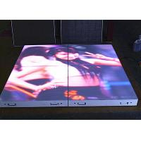 Wholesale P6.25mm LED Dance Floor Tiles , Full HD SMD3528 Waterproof LED Screen from china suppliers