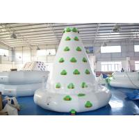 China Kids Inflatable Water Sport , Large Inflatable Water Climbing Wall For Water Park on sale