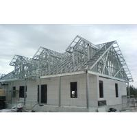 Quality Luxury Prefab Steel House Construction / Steel Frame Homes CE SGS Listed for sale