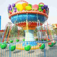 Wholesale 5m Amusement Park Rides , Fruit Flying Chair Ride Without Foundation from china suppliers