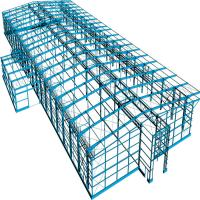 Wholesale Prefab Portable Steel Frame Workshop Buildings With Light Steel Structure from china suppliers