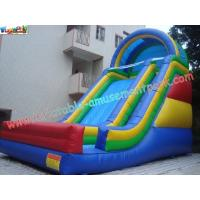 Wholesale 0.55mm PVC Commercial Inflatable High Slides For Outdoor And Backyard Use 9x 5 x 8M from china suppliers
