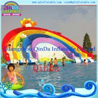Wholesale Guangzhou QinDa Inflatable Slide Inflatable Water Slide. Water Park. Water Pool Slide from china suppliers