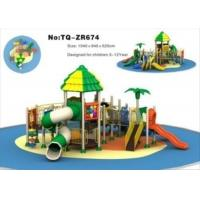 Stylish Little Kids Outdoor Playground Equipment For Amusement Park TQ-ZR674