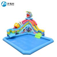 Commercial Inflatable Slide Inflatable Piranha Water Slide 3 Years Warranty
