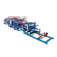 China Continuous Sandwich Panel Roll Forming Machine For Roof Or Wall Plate Making on sale