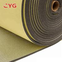 China Self Adhesive Construction Heat Insulation Foam With Aluminium Foil One Side on sale
