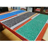 Wholesale Durable EPDM Jogging Track , 10+3mm Hybrid EPDM Rubber Crumb Athletic Track from china suppliers