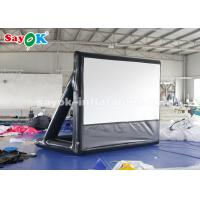 Wholesale 2.63×3.4m Projection Cloth Outdoor Inflatable Movie Screen For Science Centers from china suppliers