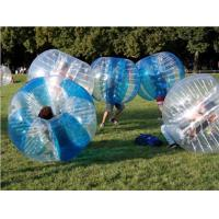 Buy cheap Waterproof Fabric Inflatable Bubble Ball Soccer / Inflatable Bubble Football from wholesalers