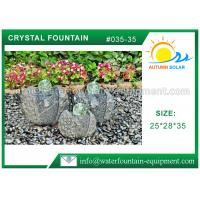 Buy cheap Artistic Cast Stone Garden Fountains , Large Natural Stone Fountains from wholesalers