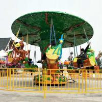 Wholesale Theme Park Flying Chair Ride With Dinosaur Cockpit Long Working Life from china suppliers