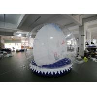 Wholesale Custom Inflatable Snow Globe Photo Booth / Blow Up Christmas Globe from china suppliers