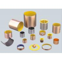 Wholesale Yellow POM Boundary Lubricating Bearings DX Bushing , Sliding Bearing Self Lubricating Bushing from china suppliers