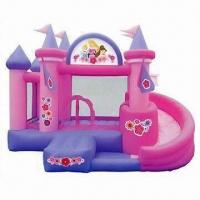 Buy cheap Inflatable Bouncer, Made of 0.55mm PVC Tarpaulin, 4.8x4.8x2.7m, CE Certified, 3 from wholesalers