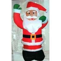 Wholesale 8 Meter high Santa claus christmas inflatable decoration customized  with  logo  print from china suppliers