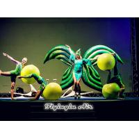 Wholesale Drama Stage Performance Green Inflatable Costumes, Inflatable Wings for Sale from china suppliers