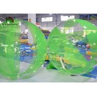 China Mixed-color 2m Diameter Customized PVC Wak On Water Ball For Water Park on sale