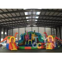Wholesale Dinosaur Inflatable Water Park For Land With Big Inflatable Swimming Ring Pool from china suppliers