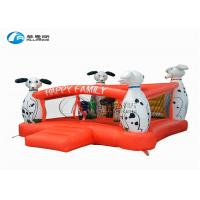 Wholesale Dalmatian happy family inflatable bouncy house for kids from china suppliers