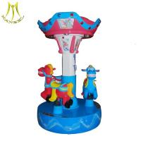 China Hansel  used carousel for  kids game machine 3 seats mini carousel for sale on sale