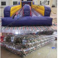 Wholesale Camouflage Bungee run,,inflatable active sport game KSP063 from china suppliers