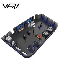 Wholesale Customized Virtual Theme Park Game With VR Racing Simulator Car Amusement Park from china suppliers