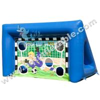Wholesale Inflatable football goal,Air seal inflatable football shooting, Interactive Games from china suppliers