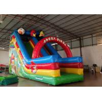 Wholesale Inflatable Crazy Bird Toddler Water Slide , Attractive Jumping Castle Water Slide from china suppliers