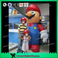 Wholesale 2.5m PVC Event Advertising Inflatable Mario Cartoon Custom from china suppliers