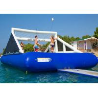 Wholesale 0.9 mm PVC Tarpaulin Inflatable Water Game / Inflatable Volleyball Game from china suppliers