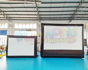 Wholesale blow Advertising Cinema Projection Show Air Inflatable Movie Screen from china suppliers
