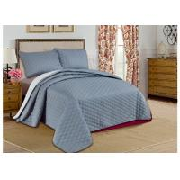 Wholesale Custom Grey Printed Bed Spread Sets , Home Adult Luxury Bedspreads from china suppliers