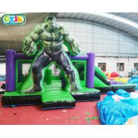 Wholesale Giant Sports  Kids Inflatable Bounce House Castle Hulk  Design Family Use from china suppliers