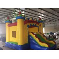 China Colorful Blow Up Bounce House , Triple Stitching Castle Inflatable Bounce House on sale