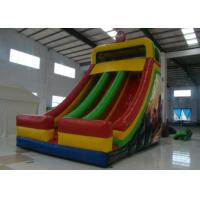 China Spiderman Theme Commercial Inflatable Water Slides 8 X 5 X 7m Enviroment - Friendly on sale