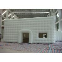 Mobile Building Inflatable Cube Tent with Door and Window