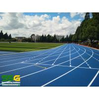 Wholesale 400m Self Knot Full PU Running Track / University Recycled Rubber Flooring from china suppliers