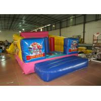 Wholesale Durable Custom Made Inflatables Bounce House Slide Combo Digitally Printing 4 X 3 X 2.2m from china suppliers