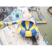 Wholesale Amusement Park Space Bowl Water Slide from china suppliers