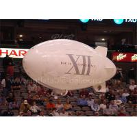China Helium Inflatable Advertising Balloons 3m White Inflatable Outdoor RC Blimp on sale