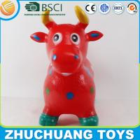Quality custom color paint cow animal inflatable toy for sale