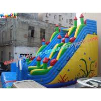 Wholesale Inflatabl Giant Slide With Durable PVC Tarpaulin Commercial Inflatable Slide 10L x 6W x 8H from china suppliers