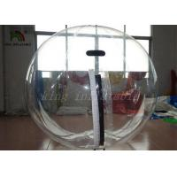 China Clear PVC 2m Dia Inflatable Aqua Water Ball Nice Welds / YKK-zip From Japan on sale