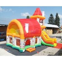 Wholesale 18 OZ PVC Inflatable Bouncer Slide Playground Bouncy Castle from china suppliers