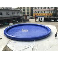 Wholesale 0.9mm PVC Inflatable Swimming Pool / Blow Up Portable Round Water Pool from china suppliers