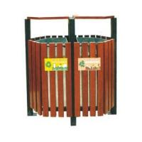 Wholesale High Quality Wooden Outdoor Bin (RS152) from china suppliers