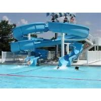 Wholesale Safe Fiberglass Pool Water Slide For Aquatic Park / Famlily Entertainment from china suppliers