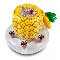 Wholesale Phthalate Free Pool Inflatable Pineapple Cooler , Holds 5 Drinks from china suppliers