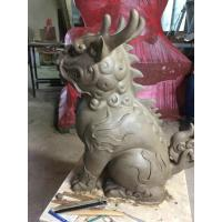 Wholesale Mythical Wildlife Fiberglass Animal Sculptures Garden Ornaments Clay Animal Statues from china suppliers